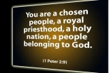The Holiness of God's People