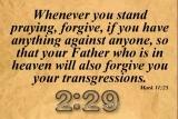 Forgiveness - Countdown