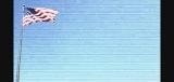 4th of July Memorial Day American Flag Background Loop