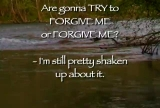 Thoughts on Forgiveness