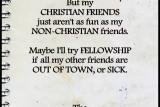 Fellowship EXCUSES