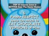 JESUS VS THE EASTER BUNNY