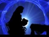 Blue Nativity Wave
