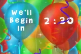 Party Balloon Countdown