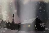 Cabin in the Snow - loop
