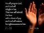 Prayer Scripture Countdown