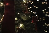 Candles, Bells, Trees, and Nativity Background