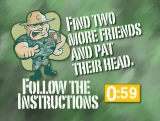 Follow the Instructions Interactive Countdown