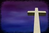 Cape Henry Cross Purple Blue