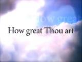 How Great Thou Art iWORSHIP VideoTrax