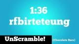 UnScramble-Candy Bar