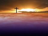 Background: Cross on Sunset Timelapse
