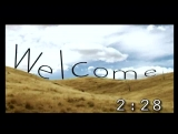 Welcome Countdown #1