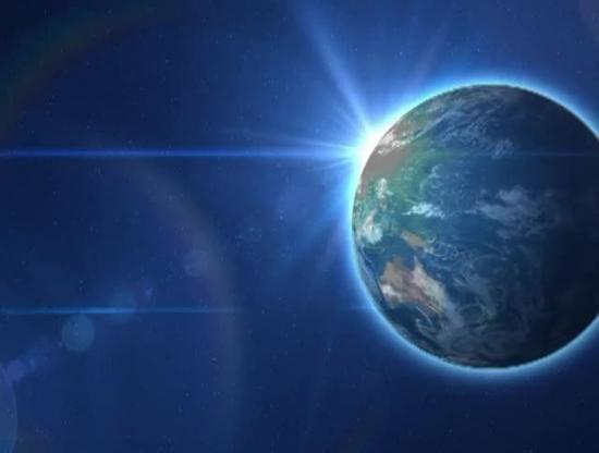 Planet Earth Rotating Worship Loop | Videos2worship