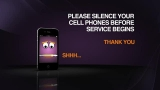 Please silence your cell phones (widescreen)