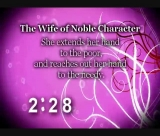 Proverbs 31 Wife Countdown