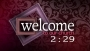 Valentine's Day Countdown - Damask Welcome
