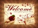 God is Love Welcome Slide - Valentines