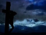 Crucifixion Storm Good Friday Motion Background