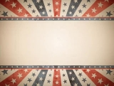 Stars and Stripes Vintage Background Loop