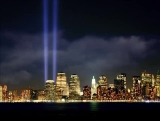 September 11th Memorial Lights