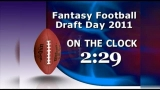 Fantasy Football On the Clock 5 Minute