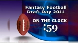Fantasy Football Draft On the 2 minute clock