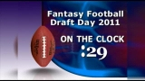 Fantasy Football Draft On the 1 Minute Clock