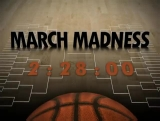March Madness Basketball Welcome Countdown