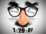 Funny Mustache Welcome Countdown