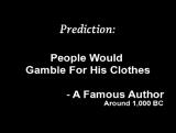 Crucifixion Predictions